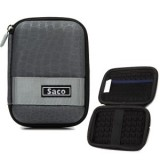 Saco External Hard Disk Hard Case Pouch Cover Bag for Dell Portable Backup Hard Drive 1 TB  External Hard Disk - Grey