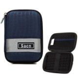 Saco External Hard Disk Hard Case Pouch Cover Bag for Samsung M3 1.5 TB  ExternalHard Disk - Dark Blue