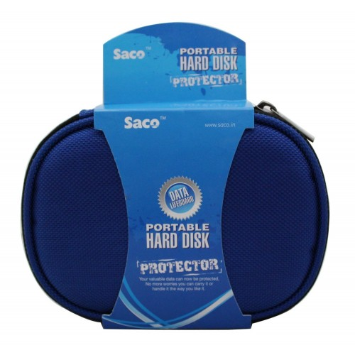 Saco Shock Proof External Hard Disk Case for WD My Passport